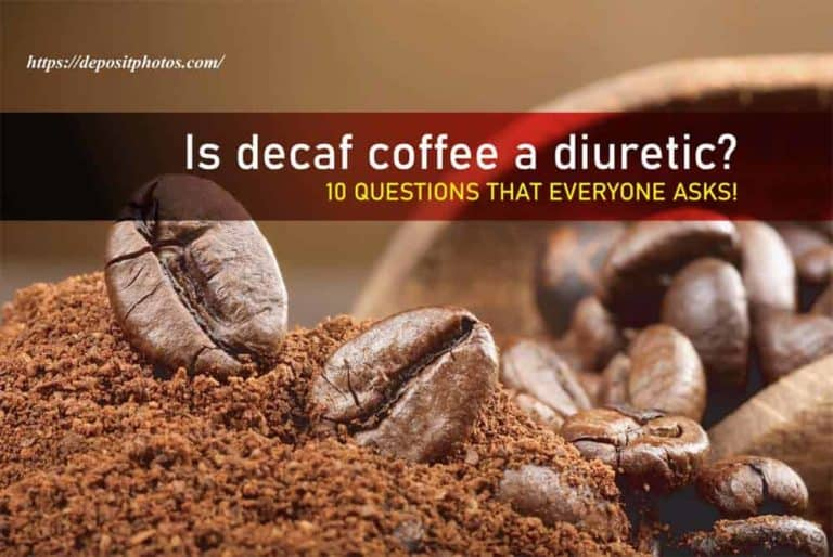 Is decaf coffee a diuretic