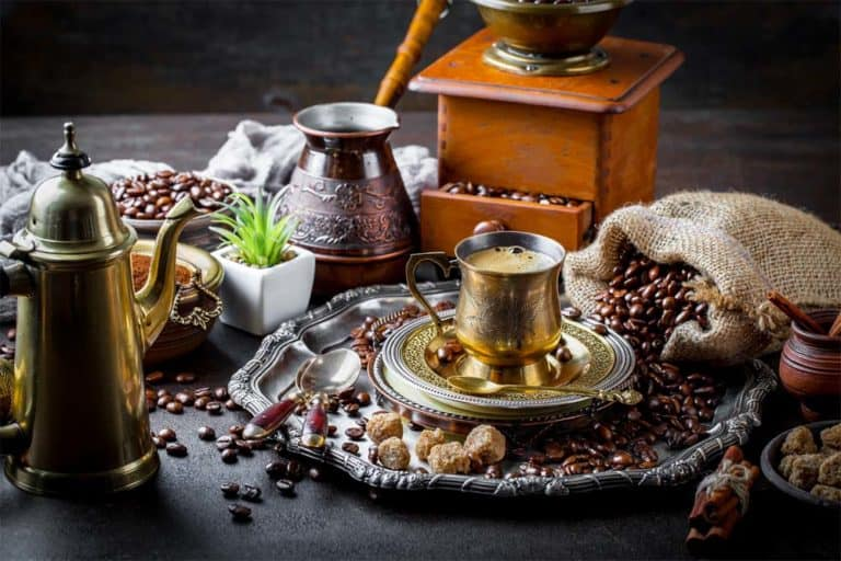 What is Arabic coffee